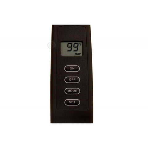 Image of Skytech 1001TH On/Off LCD Fireplace Remote Control With Thermostat - Fireplace Choice