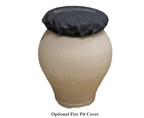 Image of American Fyre Designs Amphora Urn - 660 Model - Fireplace Choice