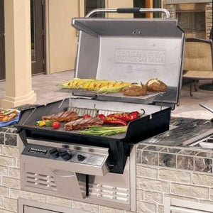 Broilmaster 27-Inch Super Premium Built In Natural Gas Grill - P3SXN - Fireplace Choice