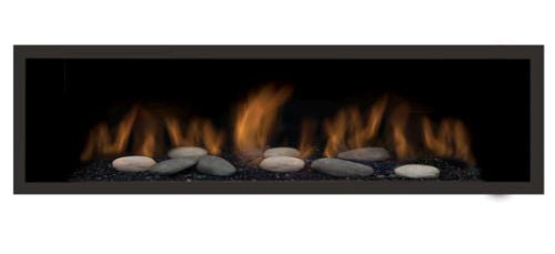 Clean Face Black Surround with Safety Barrier for Austin 65L Fireplaces - Fireplace Choice