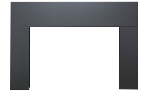 Sierra Flame Standard Black 3-Sided Surround for Abbot Gas Insert - 28