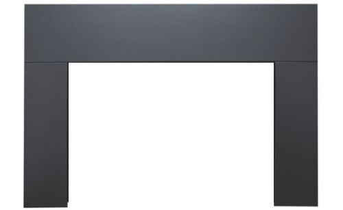 Sierra Flame Standard Black 3-Sided Surround for Abbot Gas Insert - 26