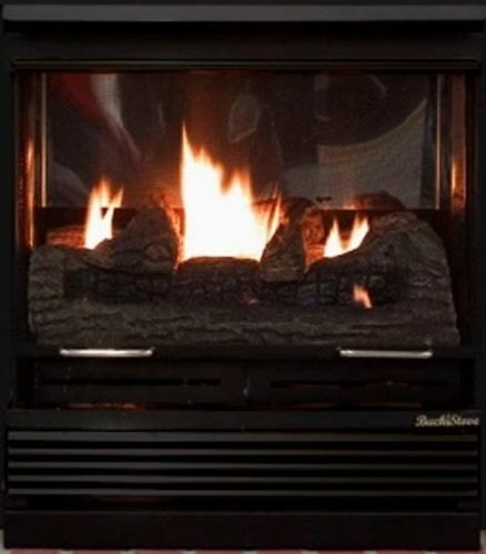 Buck Stove Model 32 Vent Free Gas Stove & FreeStanding Fireplace - Fireplace Choice