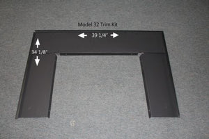Buck Stove PAFP-32 Standard Trim Kit for 32 Gas Stove - Fireplace Choice