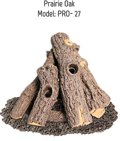 Image of Prairie Oak Log Set - PRO-27