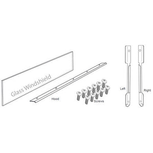 Firegear Kalea Bay Non-LED (OFP-LECO-N) See-Through Conversion Kit - Fireplace Choice