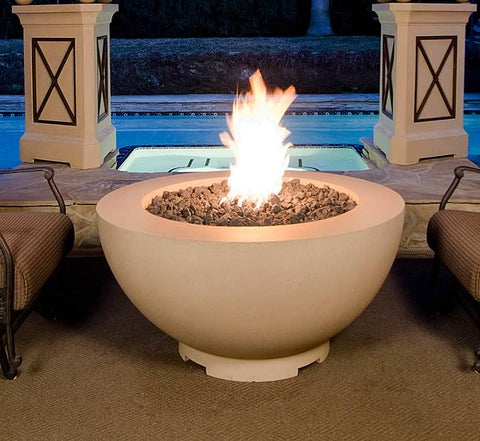 "American Fyre Designs 48"" Gas Fire Bowl - 731 - Fireplace Choice"