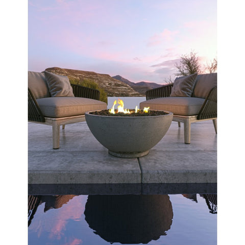 Image of Firegear Sanctuary 2 Gas Fire Bowl with Match Throw Ignition System - SAN2-34DBSMT - Fireplace Choice