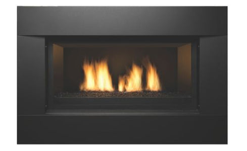 "Sierra Flame Direct Vent Linear Newcomb 36"" Deluxe Fireplace - Fireplace Choice"