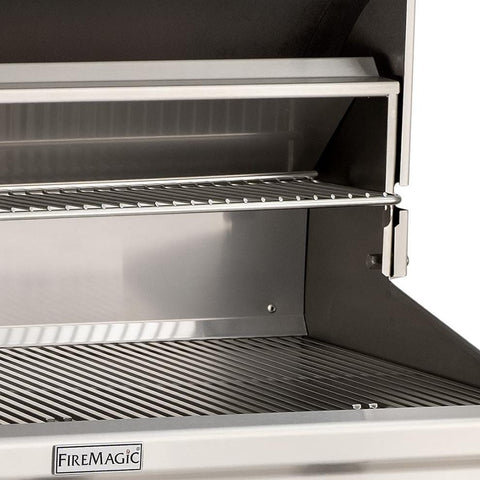 "Fire Magic Choice 30"" Built-In Gas Grill With Analog Thermometer  - C540I-RT1N /  C540I-RT1P  - Warming Rack"