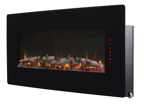 "Image of Winslow 48"" Wall Mount Electric Fireplace - SWM4820 - Fireplace Choice"