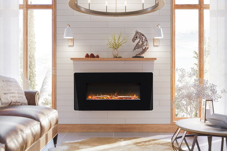 "Dimplex Winslow 36"" Wall Mount Electric Fireplace - SWM3520 - Fireplace Choice"
