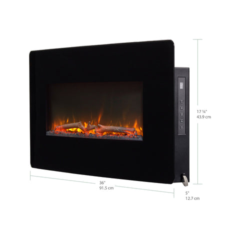 "Image of Dimplex Winslow 36"" Wall Mount Electric Fireplace - SWM3520 - Fireplace Choice"