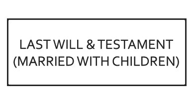 Testamentary Will Template: Married with Children - Ontario, Canada