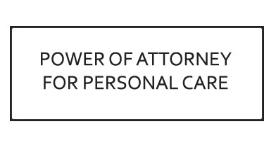 Continuing Power of Attorney for Personal Care Template - Ontario, Canada