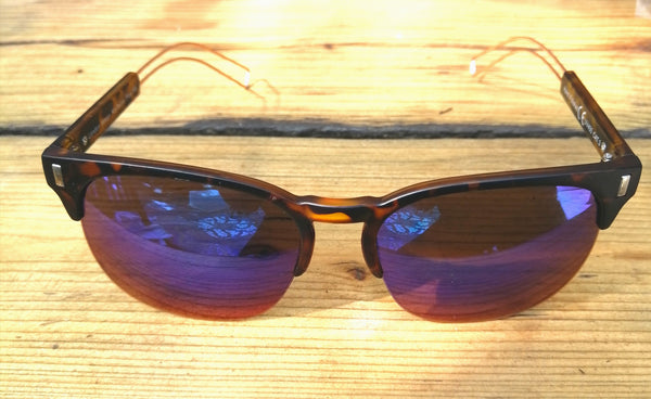 Tortoise Shell & Mirrored Sunglasses - Glitter and Gem Jewellery