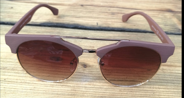 Taupe & Gold Sunglasses - Glitter and Gem Jewellery