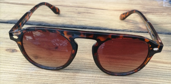 Tortoise Shell Graduated Dark Lense Sunglasses - Glitter and Gem Jewellery