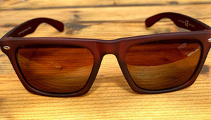 Brown Rubber Sunglasses - Glitter and Gem Jewellery