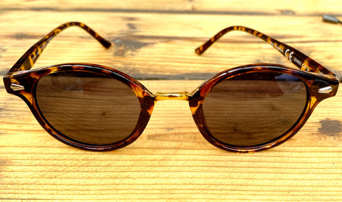 Tortoise Shell Round Sunglasses - Glitter and Gem Jewellery