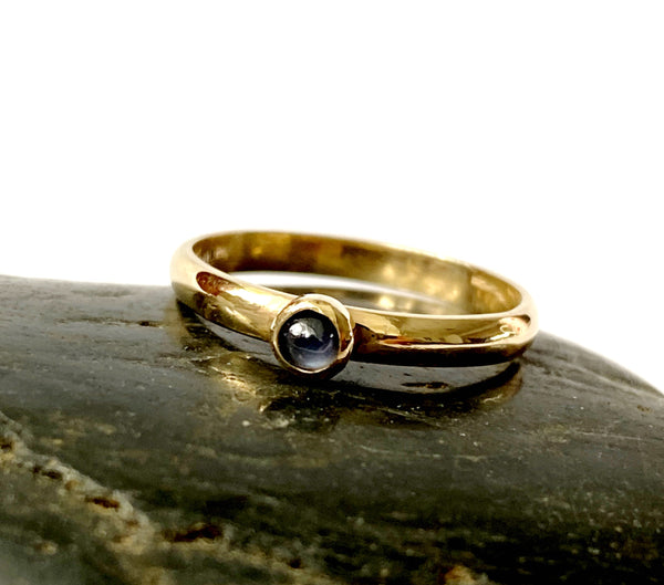 Star Sapphire 9 carat Gold Ring - Glitter and Gem Jewellery