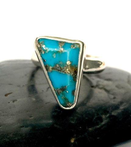 Campitos Turquoise Sterling Silver Ring