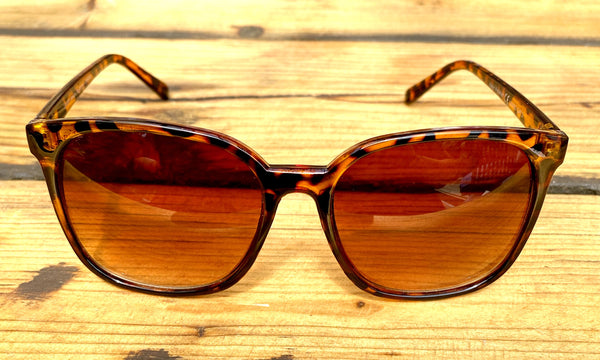 Oversized Tortoise Shell Sunglasses - Glitter and Gem Jewellery