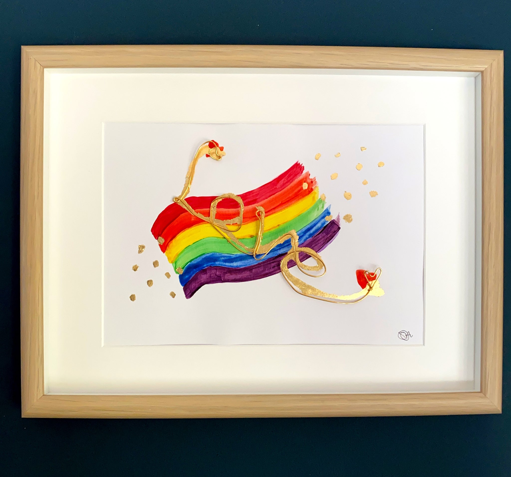Love & Diversity Framed Original Art