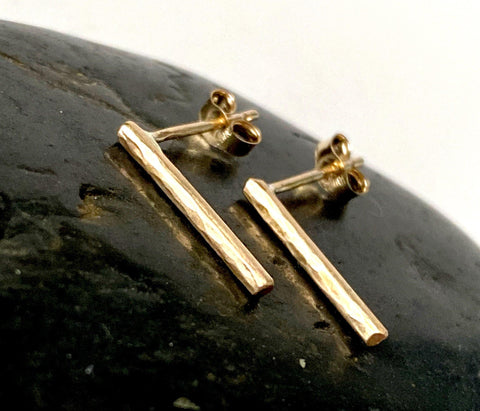14 carat Gold Filled Stud Earrings - Glitter and Gem Jewellery