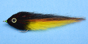EP Flies - Dorado Black/Yellow #4/0