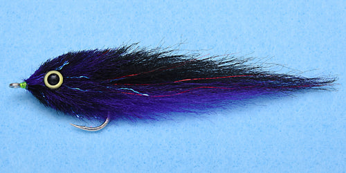 EP Flies - Dorado Purple/Black #4/0