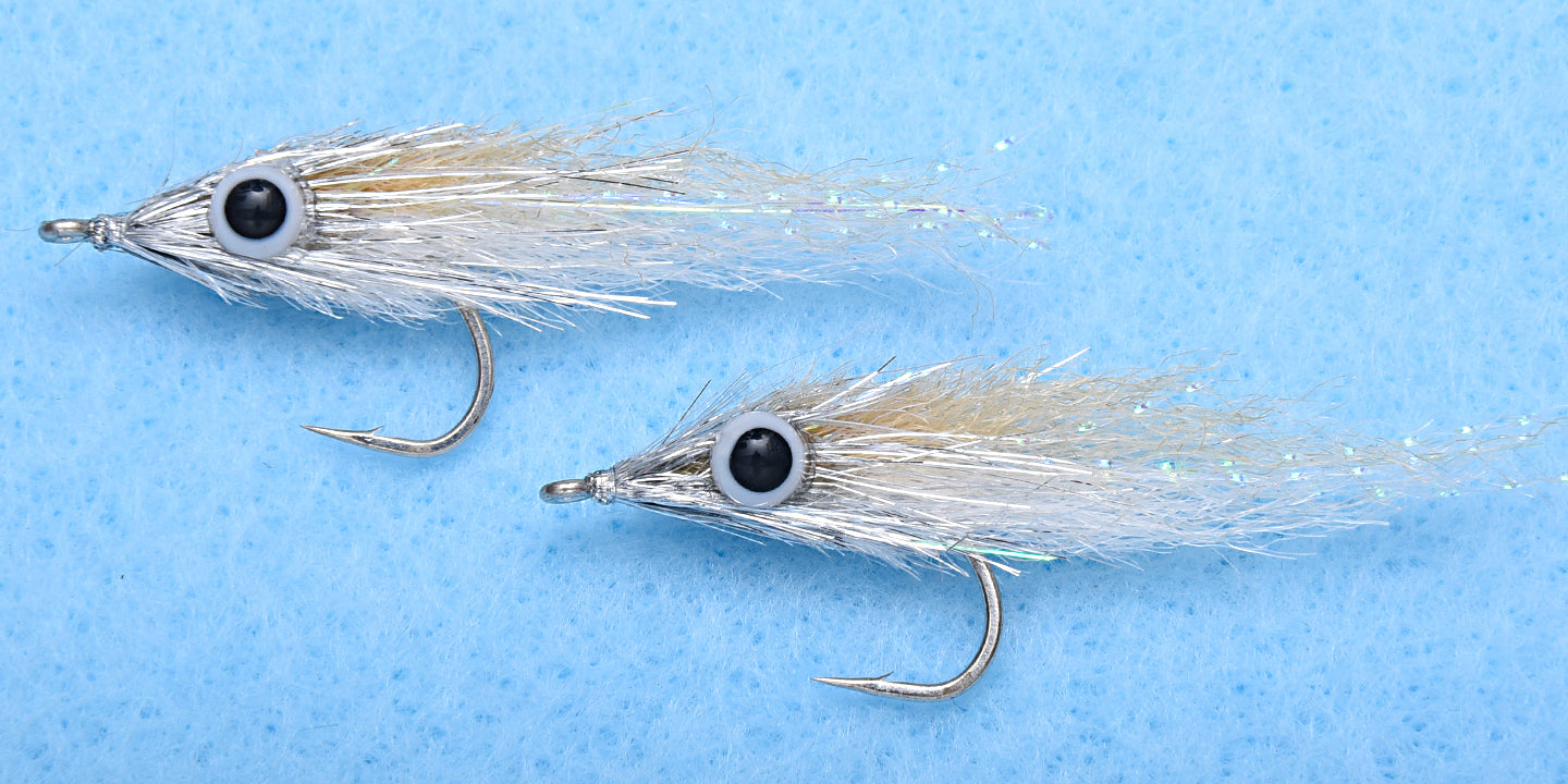 EP Flies - Micro Minnow Tan #2 (2 flies per pack)