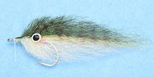 EP Peanut Butter Olive/Polar #2/0 - EP Flies