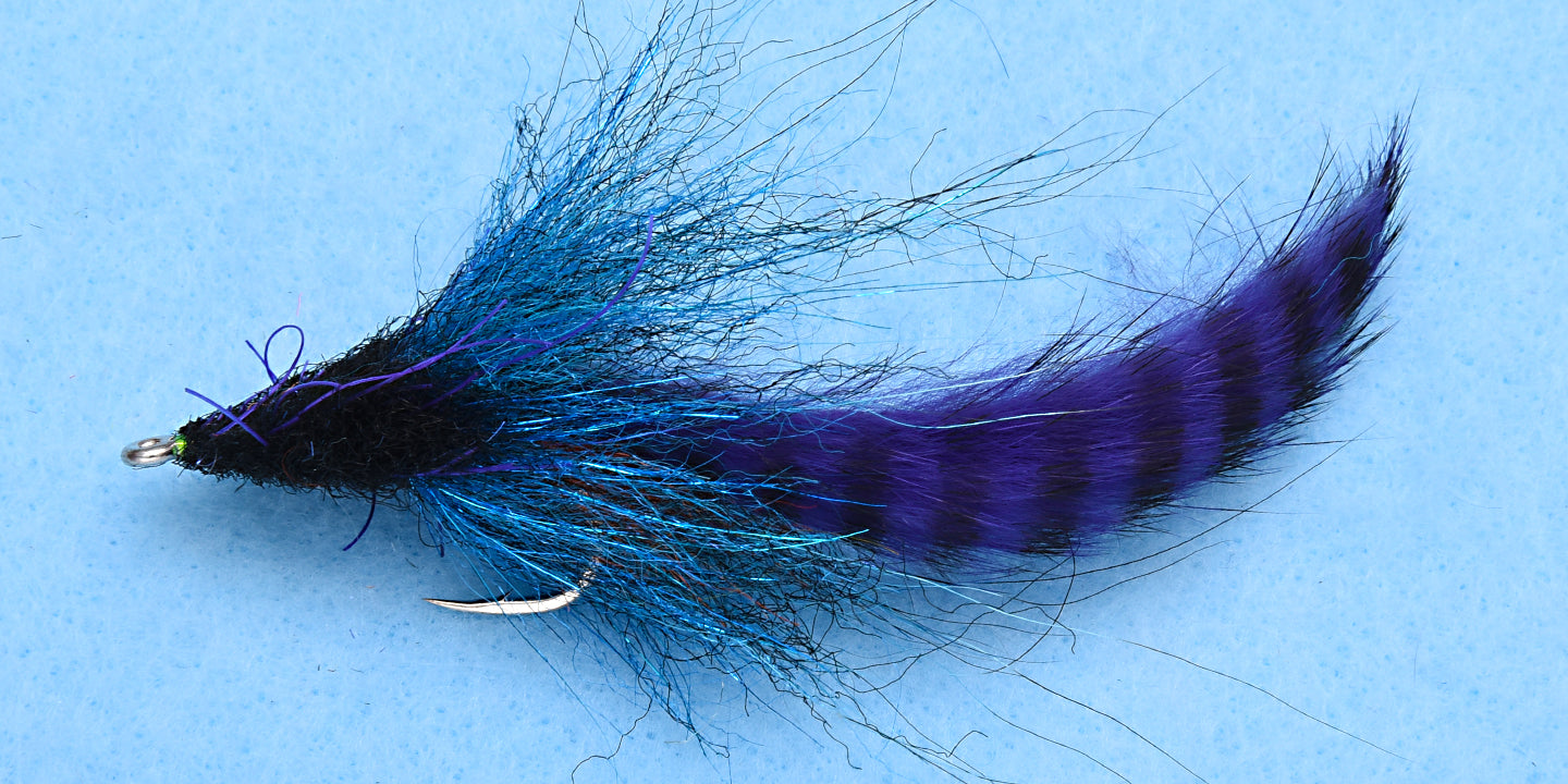 EP Tarpon SP Bunny Purple/Blue #2/0 - EP Flies