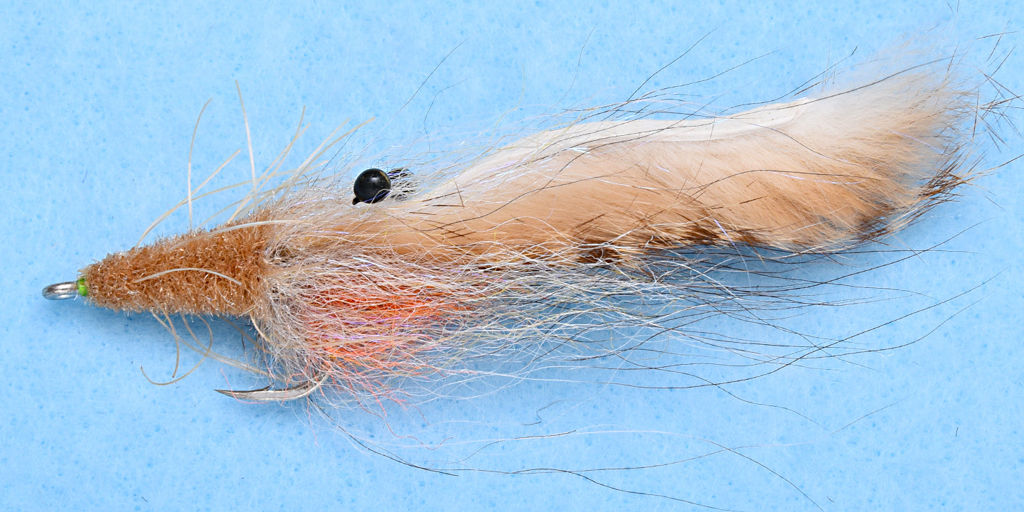 EP Flies - Tarpon SP Suspended Shrimp Tan #1/0