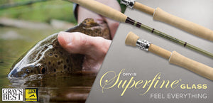 Orvis Superfine GLASS Fly Rod Outfits