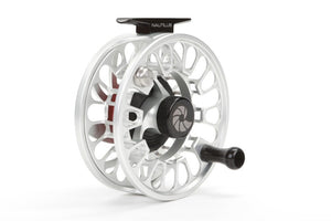 Nautilus NV-G Saltwater Fly Reel Silver 8-9 WT