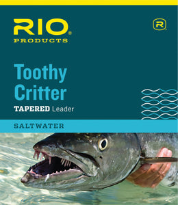 RIO Saltwater Toothy Critter Leader