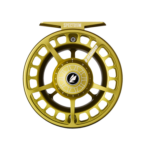 Sage Spectrum Fly Reel - Lime Gold