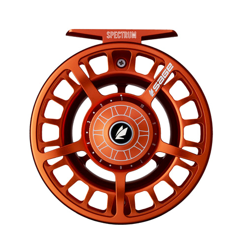 Sage Spectrum Fly Reel - Blaze [color DISCONTINUED by Sage]