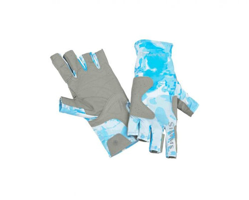Simms SolarFlex® Guide Gloves - Cloud Camo - NEW for 2019!