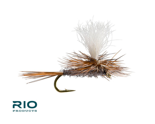 RIO Flies - Parachute Adams (Calf) Hook Sizes #10-20 [Pack of 12]