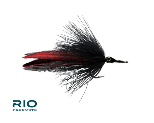 RIO Flies - Black Death #1/0