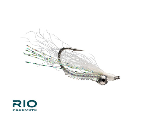 RIO Flies - Crazy Charlie - White