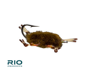 RIO Flies - Wooly Crab - Olive