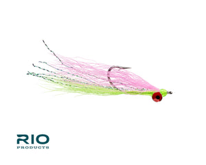 RIO Flies - Clouser Minnow - Pink & Chartreuse