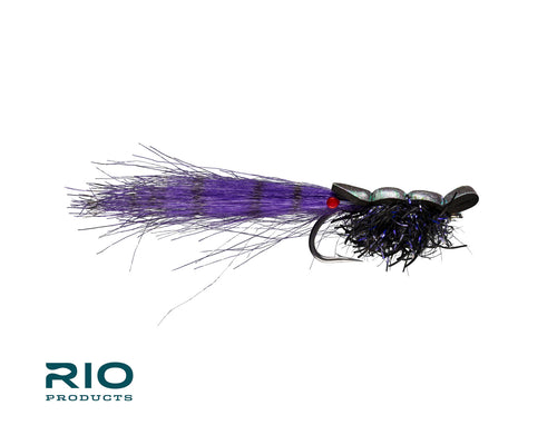 RIO Flies - RIO's Guido Shrimp #1/0 - Black/Purple
