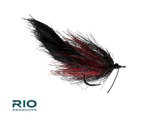 RIO Flies - RIO's Smelling Salt - Black & Red