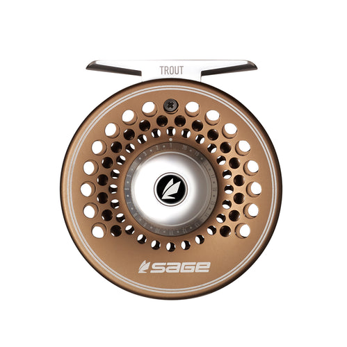 Sage TROUT Fly Reel - Bronze - NEW!
