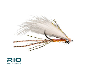 "RIO Flies - ""Bunny Foo Foo"" Bonefish Fly - Flesh/Peach #6"